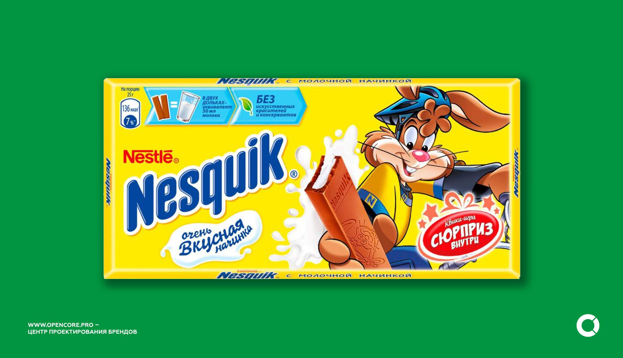 методология исследования бренда на примере Nesquik